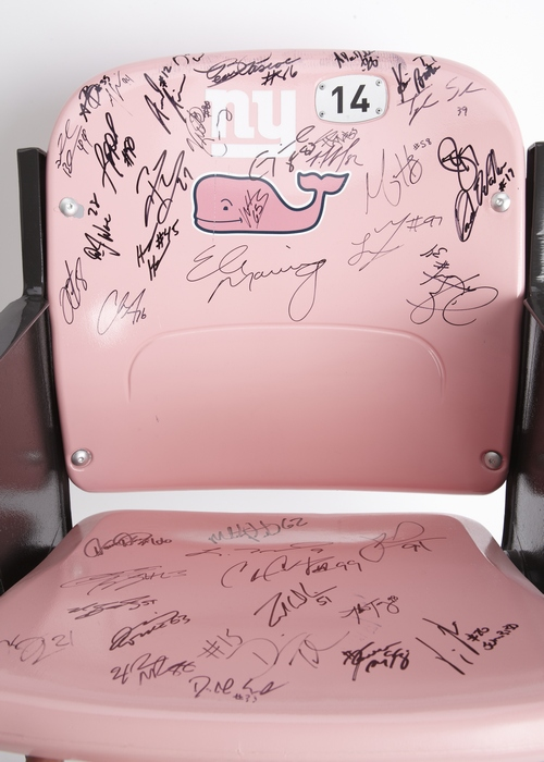 NY Giants, vineyard vines BCA Chair